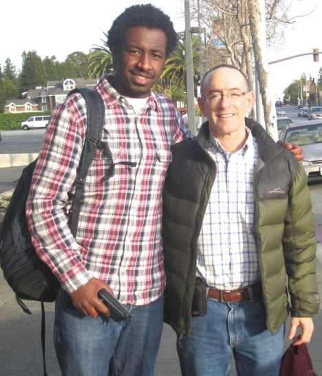 Robel Haile with Dr. Hodes