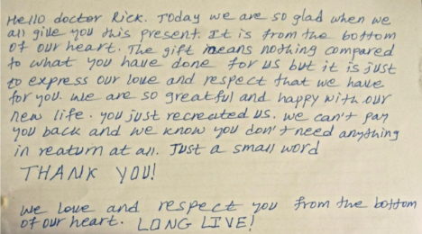 A letter to Rick