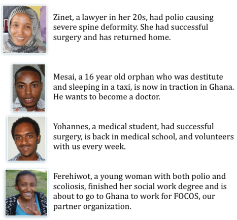 Impressive patient stories