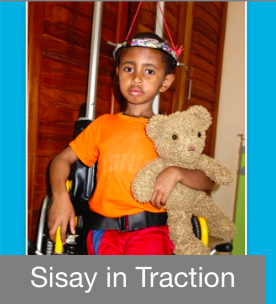 Sisay in Traction